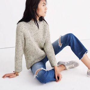 Madewell Donegal northfield mockneck sweater